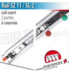 Rail moteur Marantec - SZ 11 SL-2 - courroie - 2 parties