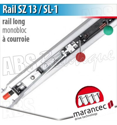Rail d'entraînement moteur Marantec - SZ 13 SL-1 - courroie - 1 partie