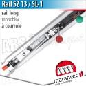 Rail moteur Marantec - SZ 13 SL-1 - courroie - monobloc