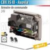 Armoire de commande CBX IO pour motorisation portail battant Somfy - AXOVIA 220B