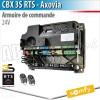 Armoire de commande CBX RTS pour motorisation portail battant Somfy - AXOVIA 220B