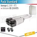 Motorisation portail Somfy - IXENGO L 230V - Pack Standard - RTS