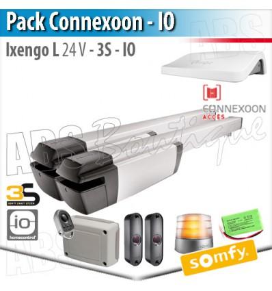 Motorisation portail Somfy - IXENGO L 24V - Pack Connecté - io