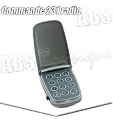 Clavier à code Marantec - Command 231 - 433 MHz