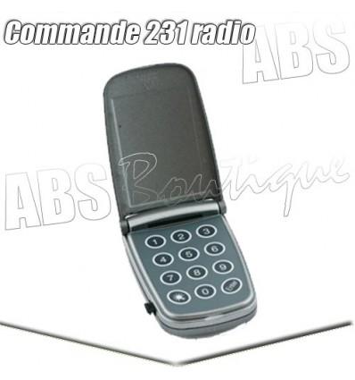 Clavier à code radio Marantec Command 231 - 433 MHz