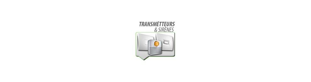 Transmetteurs et sirènes alarme SOMFY