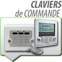 Claviers de commande alarme SOMFY