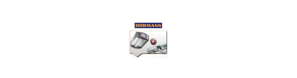 Moteurs HÖRMANN + rails de guidage