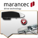 Moteurs MARANTEC + rails de guidage