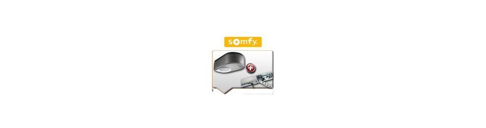 Moteurs SOMFY + rails de guidage