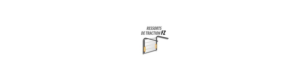 Ressorts de traction portes sectionnelles FZ