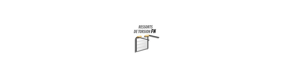Ressorts de torsion portes sectionnelles FN et FL
