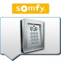 Claviers à codes SOMFY