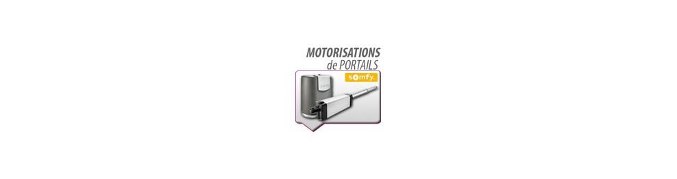 Motorisations portails Somfy