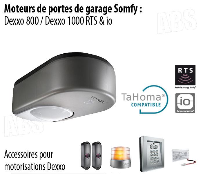 ae85d6af2a2bcf Motorisation Porte de Garage SOMFY - ABS Boutique