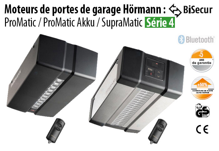 Nouveauté Hörmann Austauschantrieb Supramatic P Série 4 868 MHZ