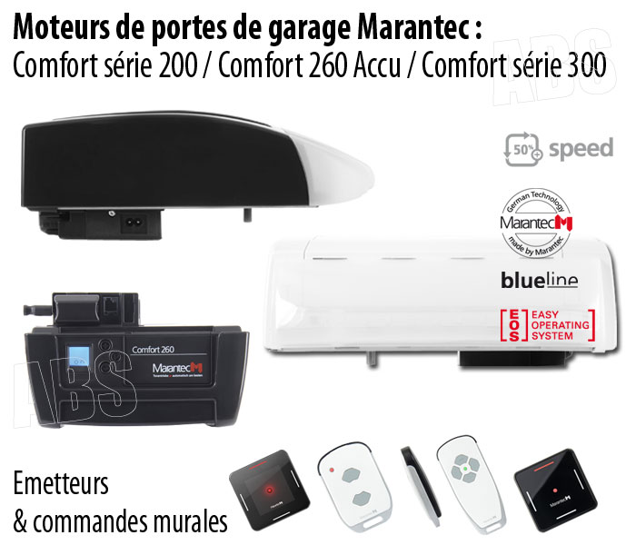motorisation porte de garage marantec abs boutique. Black Bedroom Furniture Sets. Home Design Ideas
