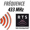 Fréquence 433 Mhz RTS somfy